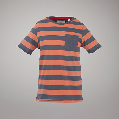 Buy Worn & Torn Boys' Wide Striped T-Shirt Online at johnlewis.com