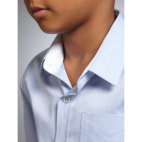 Buy John Lewis Heirloom Collection Plain Textured Herringbone Shirt Online at johnlewis.com