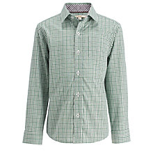 Buy John Lewis Heirloom Collection Mini Checked Shirt Online at johnlewis.com