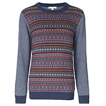 Buy John Lewis Heirloom Collection Fair Isle Round Neck Jumper, Multi Online at johnlewis.com