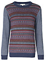 John Lewis Heirloom Collection Fair Isle Round Neck Jumper, Multi