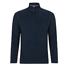 Buy John Lewis French Rib Zip Neck Jumper Online at johnlewis.com