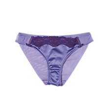 Buy Elle Macpherson Intimates Fly Butterfly Fly Briefs, Purple Online at johnlewis.com