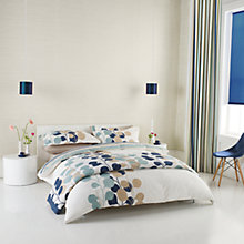 Buy Harlequin Pod Duvet Cover Set, Navy Online at johnlewis.com