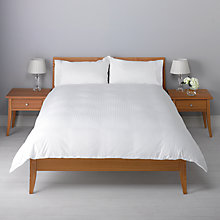 Buy John Lewis Waffle Stripe Duvet Cover Set Online at johnlewis.com
