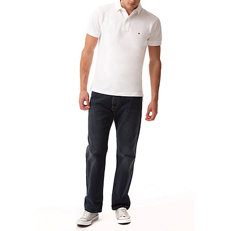 Buy Tommy Hilfiger Madison Straight Jeans, Vintage Blue Online at johnlewis.com