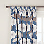 John Lewis Astrid Flower Pencil Pleat Lined Curtains