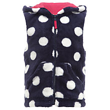 Buy John Lewis Girl Spotted Gilet Online at johnlewis.com