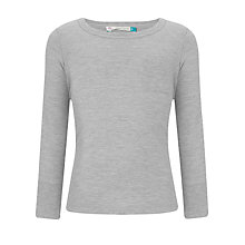 Buy John Lewis Girl Plain Long Sleeved Top Online at johnlewis.com