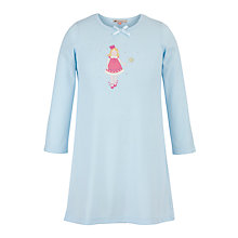Buy John Lewis Girl Fairy Nightie, Blue Online at johnlewis.com