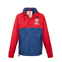 Buy Franklin & Marshall Windbreaker Jacket, Red/Blue Online at johnlewis.com