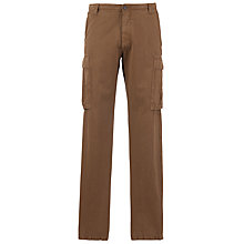 Buy Franklin & Marshall Cargo Trousers, Tabacco Online at johnlewis.com