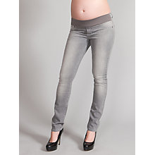 Buy Séraphine Angelina Maternity Skinny Jeans, Grey Online at johnlewis.com