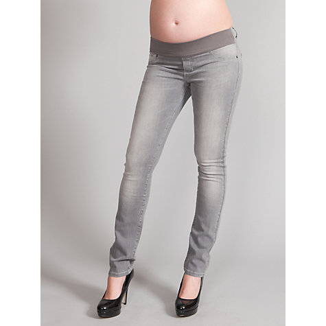 Buy Seraphine Angelina Maternity Skinny Jeans, Grey Online at johnlewis.com