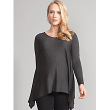 Buy Seraphine Annais V-Neck Maternity Jumper, Charcoal Online at johnlewis.com