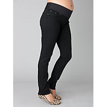 Buy Seraphine Carmen Maternity Skinny Jeans, Black Online at johnlewis.com