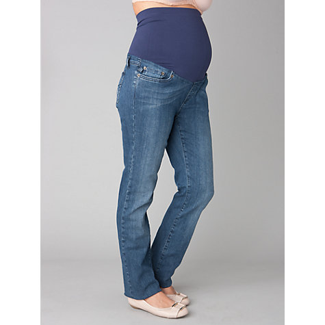 Buy Séraphine Over Bump Maternity Jeans, Blue Online at johnlewis.com