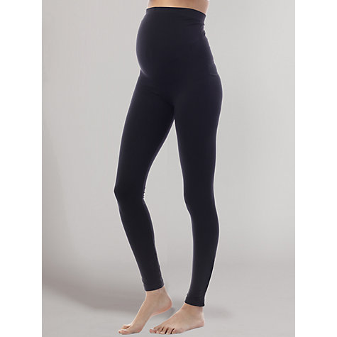 Buy Séraphine Holi Over-Bump Maternity Leggings, Black Online at johnlewis.com