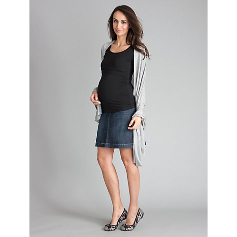 Buy Séraphine Kai Maternity Skirt, Denim Online at johnlewis.com