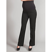 Buy Seraphine Lydia 2 Over-Bump Maternity Trousers, Black Online at johnlewis.com