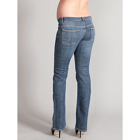 Buy Seraphine Paula Bootleg Maternity Jeans, Blue Online at johnlewis.com