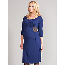 Buy Seraphine Quin Sequin Maternity Dress, Blue Online at johnlewis.com