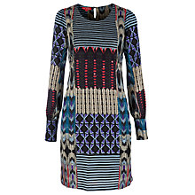 Buy Derhy Deacaedre Dress, Blue Online at johnlewis.com