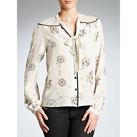 Buy Derhy Illustration Blouse, Ecru Online at johnlewis.com