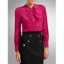 Buy Somerset by Alice Temperley Silk Frill Blouse Online at johnlewis.com
