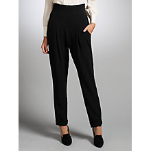 Buy Somerset by Alice Temperley High Waist Trousers, Black Online at johnlewis.com