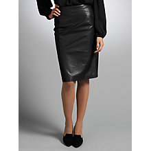 Buy Somerset by Alice Temperley Panel Detail Pencil Skirt, Black Online at johnlewis.com