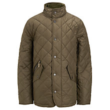 Buy Barbour Boys' Chelsea Jacket, Olive Online at johnlewis.com