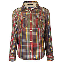 Buy American Outfitters Trapper Checked Long Sleeved Shirt, Multi Online at johnlewis.com