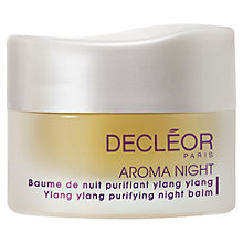 Buy Decléor Aroma Night Ylang Ylang Purifying Night Balm Online at johnlewis.com