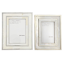 Buy John Lewis Mother of Pearl Photo Frame Online at johnlewis.com