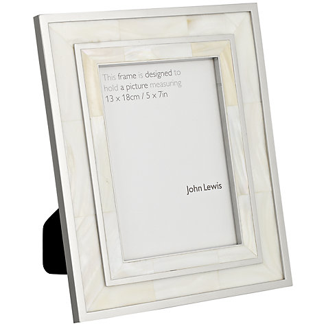 Buy John Lewis Mop Photo Frame Online at johnlewis.com