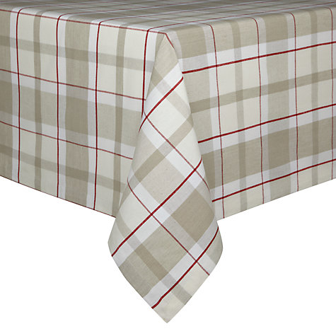 Buy John Lewis Check Tablecloth Online at johnlewis.com
