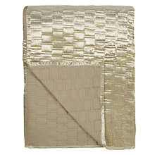 Buy John Lewis Velvet Geometric Bedspread Online at johnlewis.com