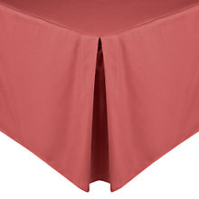 Buy John Lewis Polycotton Percale Centre Pleat Valances Online at johnlewis.com