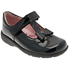 Buy Start-rite Alpha T Bar Shoes, Black Online at johnlewis.com
