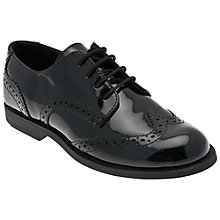 Buy Start-rite Burford Patent Leather Shoes, Black Online at johnlewis.com