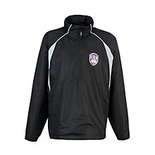 Buy Gateacre School Rain Jacket, Black/white Online at johnlewis.com
