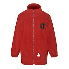 Buy East Fulton Primary School Unisex Fleece, Red Online at johnlewis.com
