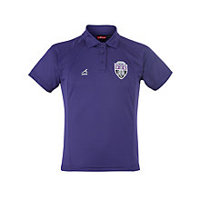 Buy Gateacre School Girls' Polo Shirt, Purple Online at johnlewis.com