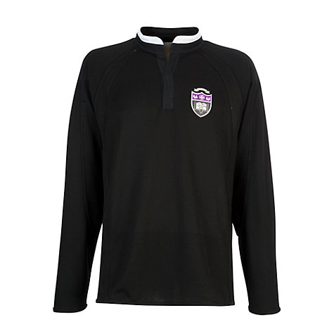 Buy Gateacre School Football Jersey, Black/White Online at johnlewis.com