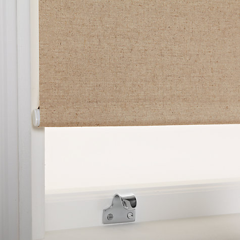 Buy John Lewis Canvas Natural Blackout Roller Blinds Online at johnlewis.com