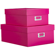 Buy John Lewis Cardboard Storage Box Online at johnlewis.com