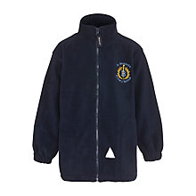 Buy St Bernard's Primary School Unisex Fleece, Navy Online at johnlewis.com