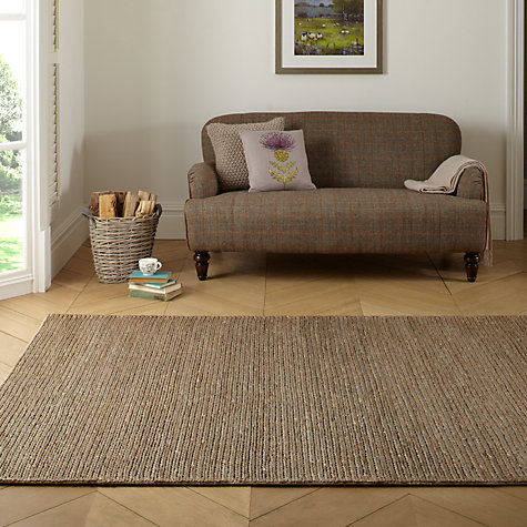 Buy John Lewis Padstow Jute Mat, Smoke Online at johnlewis.com