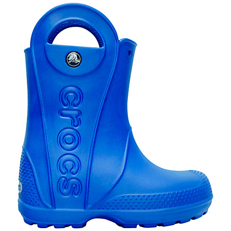 Buy Crocs Kids' Handle It Rain Wellington Boots Online at johnlewis.com